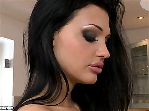 delectable chick Aletta Ocean unveils her enticing jugs for everyone's wish