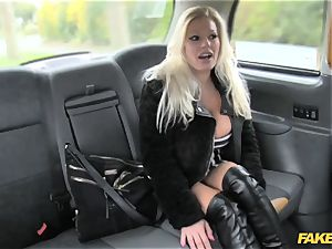 faux cab adult movie star makes debut in london cab