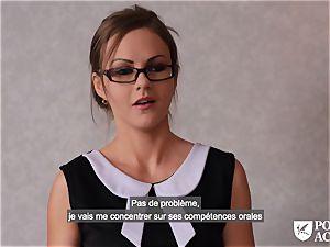 porn ACADEMIE - british Tina Kay scorching ass-fuck in three-way