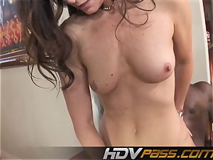 HDVPass multiracial hump with India Summers