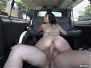 Pretty Alexis picked up and banged