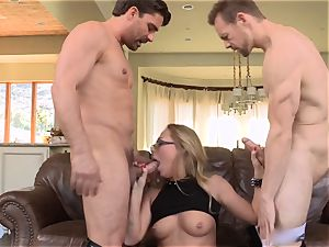 Carter Cruise double porked by 2 giant peckers
