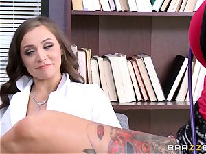 Tiffany starlet seduced by inked doc Anna Bell Peaks