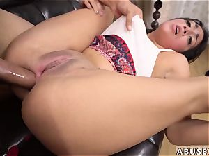Spy strapped and gagged gigantic boob raunchy slapping hard-core tough ass-fuck hump for Lexy Bandera s