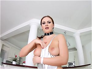 red-hot Tina Kay gets a stream of internal cumshot at All inner
