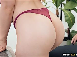 Office plow with huge-titted manager Lena Paul