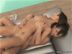 2 chicks One Nuru massage