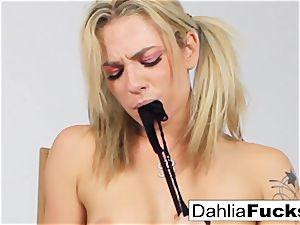 ultra-kinky school lady solo masturbation