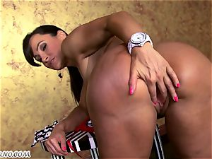 The finest cougar pornography starlet with gigantic baps and bouncy ass