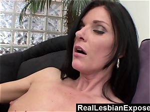 RealLesbianExposed mother Knows How to