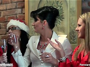 toasted office damsel lesbo party with peeing