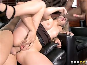 first dual foray for Madelyn Monroe