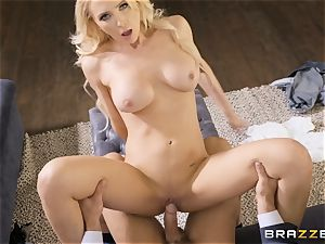 Alix Lynx bashed ball sack deep by hung horny Johnny