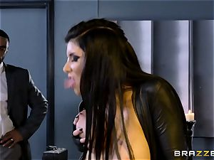 special agent Romi Rain gets puss deep with the chief