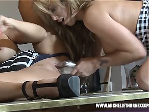 light-haired big-boobed booty eat sapphic supersluts tearing up large toys