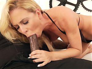interracial ass fucking porn with immense fun bags cougar Cherie DeVille