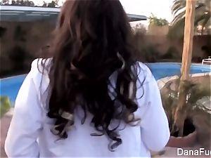 super-sexy Dana DeArmond gets a point of view butt ravage
