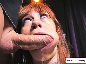 first-ever Class pov - Alexa Nova deep-throating a huge fuckpole in point of view