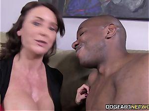 Janet Mason tries Mandingo's ample black man-meat