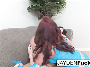 Jayden Jaymes And Taylor Vixen tear up