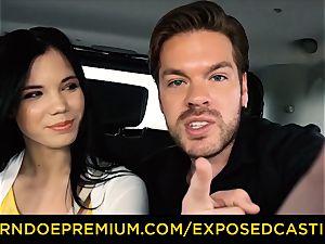 exposed casting - Russian nubile Lovenia Lux romped rigid