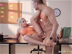 Christie Stevens leaned over and boned doggy style