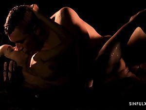 sensual rubdown turns into a sensuous screw