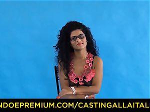 casting ALLA ITALIANA - Romanian nymphomaniac booty torn up