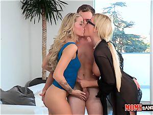 Jessa Rhodes and her stepmom entice the beau